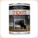 Tripett Green Bison Tripe Dog Can