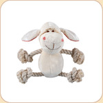 One Rope Lamb Toy