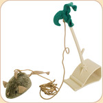 Squeaky Mouse Doorway Hanger Toy