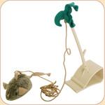 Squeaky Mouse Doorway Hanger Toy