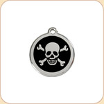Enamel/Stainless Skull  11 Color Options
