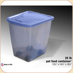 Van Ness Food Storage Container--25 lb.