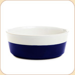 Blue Hand-Dipped Ceramic Bowl