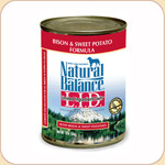 Natural Balance LID Sweet Potato & Bison (Canned)