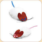 Frank &amp; Fifi! Flat Mouse 2-Pack