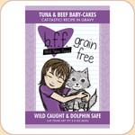 Weruva BFF Tuna & Beef Baby Cakes