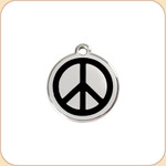 Enamel/Stainless Peace Sign 11 Color Options