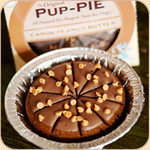 Boxed Carob & Peanut Butter Pup Pie