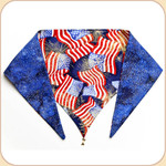 Stars and Stripes Reversible Bandana