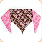 Pink Hawaii Reversible Bandana