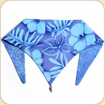 Blue Hawaii Reversible Bandana