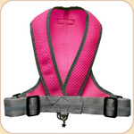 Precision Fit Harness in Mesh--Neon Pink