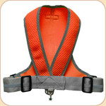 Precision Fit Harness in Mesh--Neon Orange