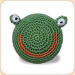 Crocheted Froggy Ball