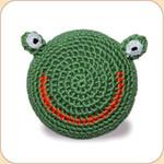 Crocheted Froggy Ball