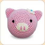 Crocheted Piggy Ball