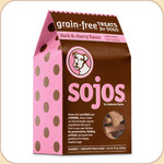 Sojos Duck & Cherry Grain Free Biscuits