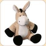 One Checked Donkey