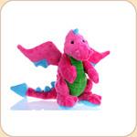 One Plush Neon Pink Mini Dragon