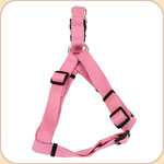 "Soy Dog Harness in Rose--5/8"" & 1"""