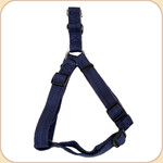 "Soy Dog Harness in Indigo--5/8"" & 1"""