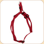 Soy Dog XS Harness in Cranberry--3/8""