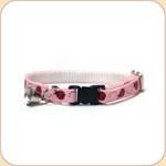 Cat Collar Breakaway & Bell--Ladybug