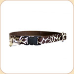 Cat Collar Breakaway & Bell--Giraffe
