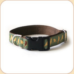 "M, L, XL Ribbon Collar & Leash 1""--Urban Birds"
