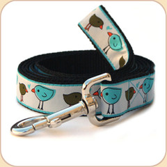 Leash in Love Birds pattern.