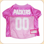 Team Pink Jersey--Packers