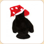 Penguin in Polka Dot Hat--Small