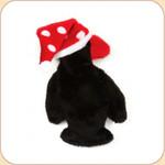 Penguin in Polka Dot Hat--Small