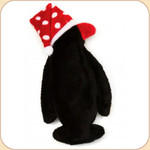 Penguin in Polka Dot Hat--Large