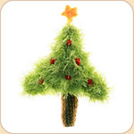 Fir Tree with Star--2 sizes