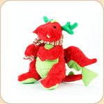 One Plush Holiday Mini Red Dragon