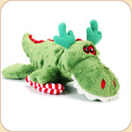 One Holiday Green Gator