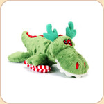 One Holiday Green Mini Gator