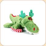 One Holiday Green Mini Gator