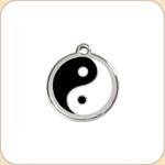 Enamel/Stainless Yin Yang