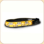 LED Illuminated Collar in Bone Print