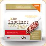 Nature's Variety Instinct Frozen Raw Beef