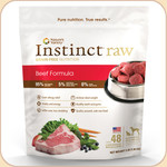 Nature's Variety Instinct Frozen Raw Beef 3 & 6 lb.