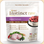 Nature's Variety Instinct Frozen Raw Rabbit 3 & 6 lb.