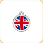 Enamel/Stainless UK Flag
