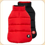 Puffer Reversible Coat Red & Black