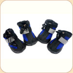 Neoprene All-Weather Booties in Blue x4