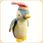 Holiday Blue Penguin with Hat