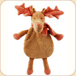 Holiday Crinkle Moose--Stuffless Toy