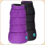 Puffer Reversible Coat Purple & Black